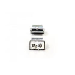 15гр Груз балансировочный Pb (литой диск), коробка 100шт Автобаланс Грузики балансировочные Расходные материалы