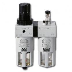 GAV FRL-200 3/8 Фильтр модульная группа с лубрикатором и манометром GAV Запчасти Пневматический