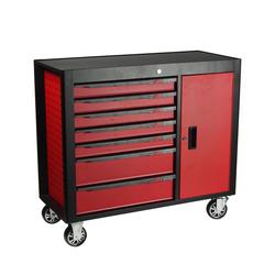 JTC S1067 Инструментальная тележка 7 секций, 1 боковой ящик JTC Мебель металлическая Сервисное оборудование