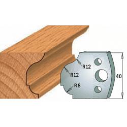 Комплекты ножей и ограничителей серии 690/691 #061 CMT Ножи и ограничители для фрез 40 мм Ножи