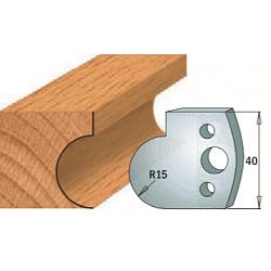 Комплекты ножей и ограничителей серии 690/691 #065 CMT Ножи и ограничители для фрез 40 мм Ножи
