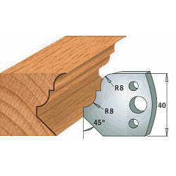 Комплекты ножей и ограничителей серии 690/691 #073 CMT Ножи и ограничители для фрез 40 мм Ножи