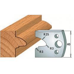 Комплекты ножей и ограничителей серии 690/691 #078 CMT Ножи и ограничители для фрез 40 мм Ножи
