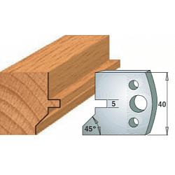 Комплекты ножей и ограничителей серии 690/691 #083 CMT Ножи и ограничители для фрез 40 мм Ножи